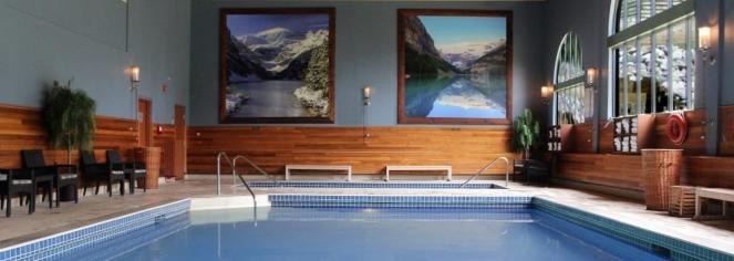 Spa:      Fairmont Chateau Lake Louise  in Lake Louise