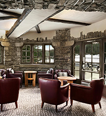 Dining at      Fairmont Banff Springs  in Banff