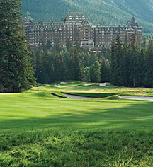 Fairmont Banff Springs  in Banff