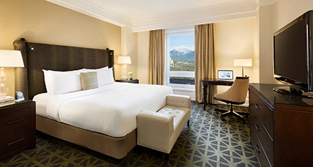 Accommodations:      Fairmont Banff Springs  in Banff