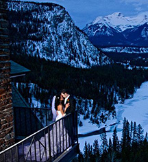 Weddings:      Fairmont Banff Springs  in Banff