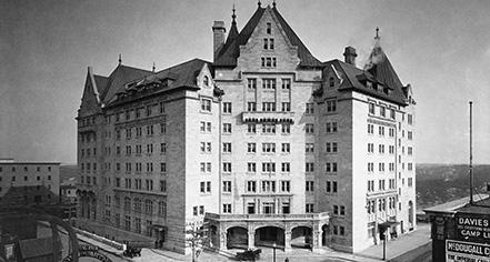 History:      Fairmont Hotel Macdonald  in Edmonton