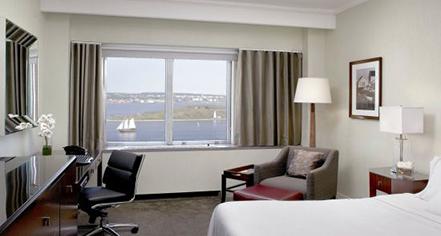 Accommodations:      The Westin Nova Scotian  in Halifax
