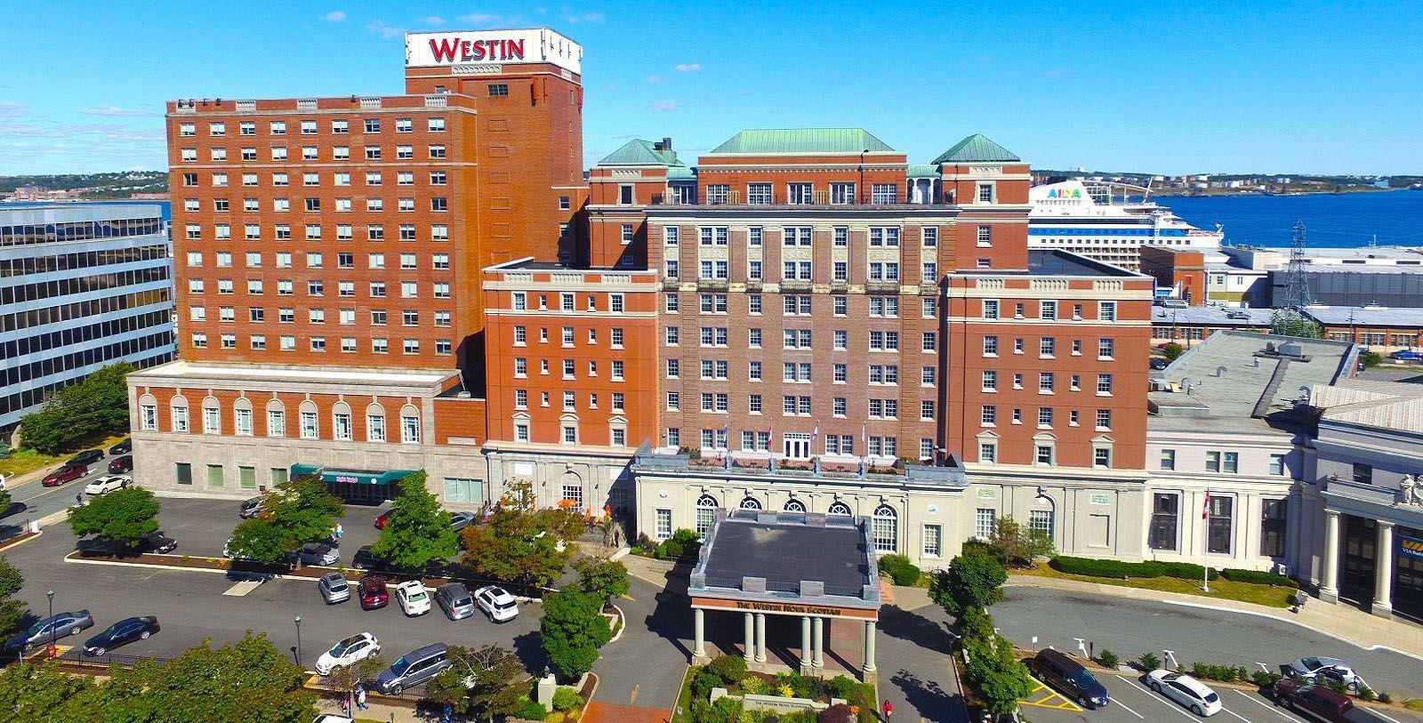 Image of Hotel Exterior The Westin Nova Scotian, 1930, Member of Historic Hotels Worldwide, in Halifax, Nova Scotia, Canada, Overview