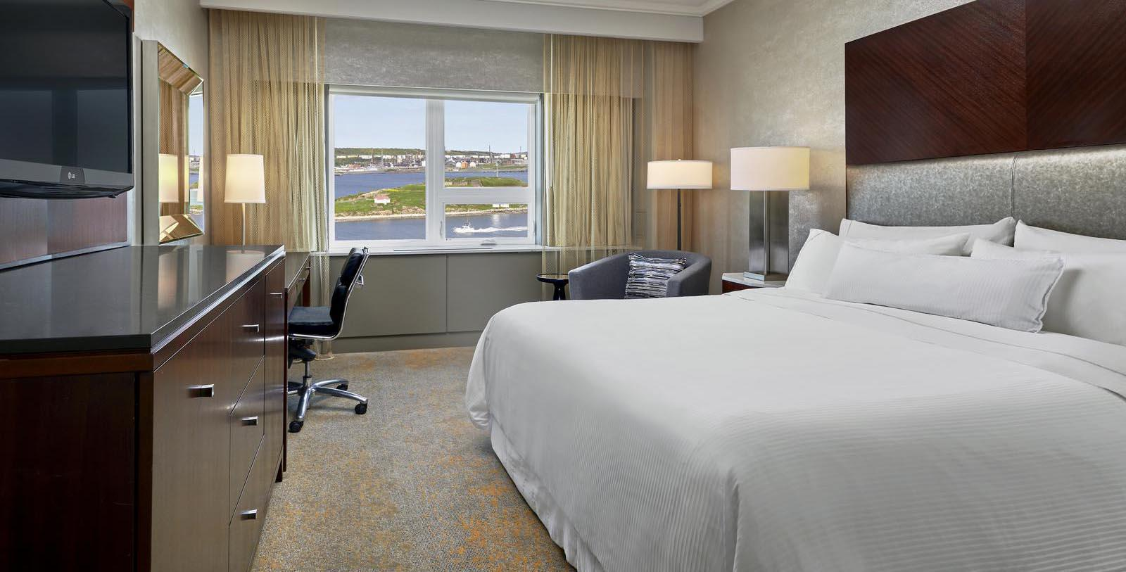 Image of Guestroom at The Westin Nova Scotian, 1930, Member of Historic Hotels Worldwide, in Halifax, Nova Scotia, Canada, Location Map