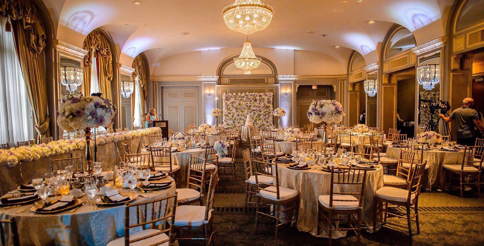 Image of Reception in Atlantic Ballroom at The Westin Nova Scotian, 1930, Member of Historic Hotels Worldwide, in Halifax, Nova Scotia, Canada, Experience