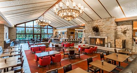 Dining at      Fairmont Jasper Park Lodge  in Jasper