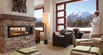 Spa:      Fairmont Jasper Park Lodge  in Jasper