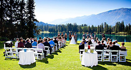 Weddings:      Fairmont Jasper Park Lodge  in Jasper