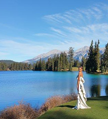 Weddings:      Fairmont Jasper Park Lodge  in Jasper