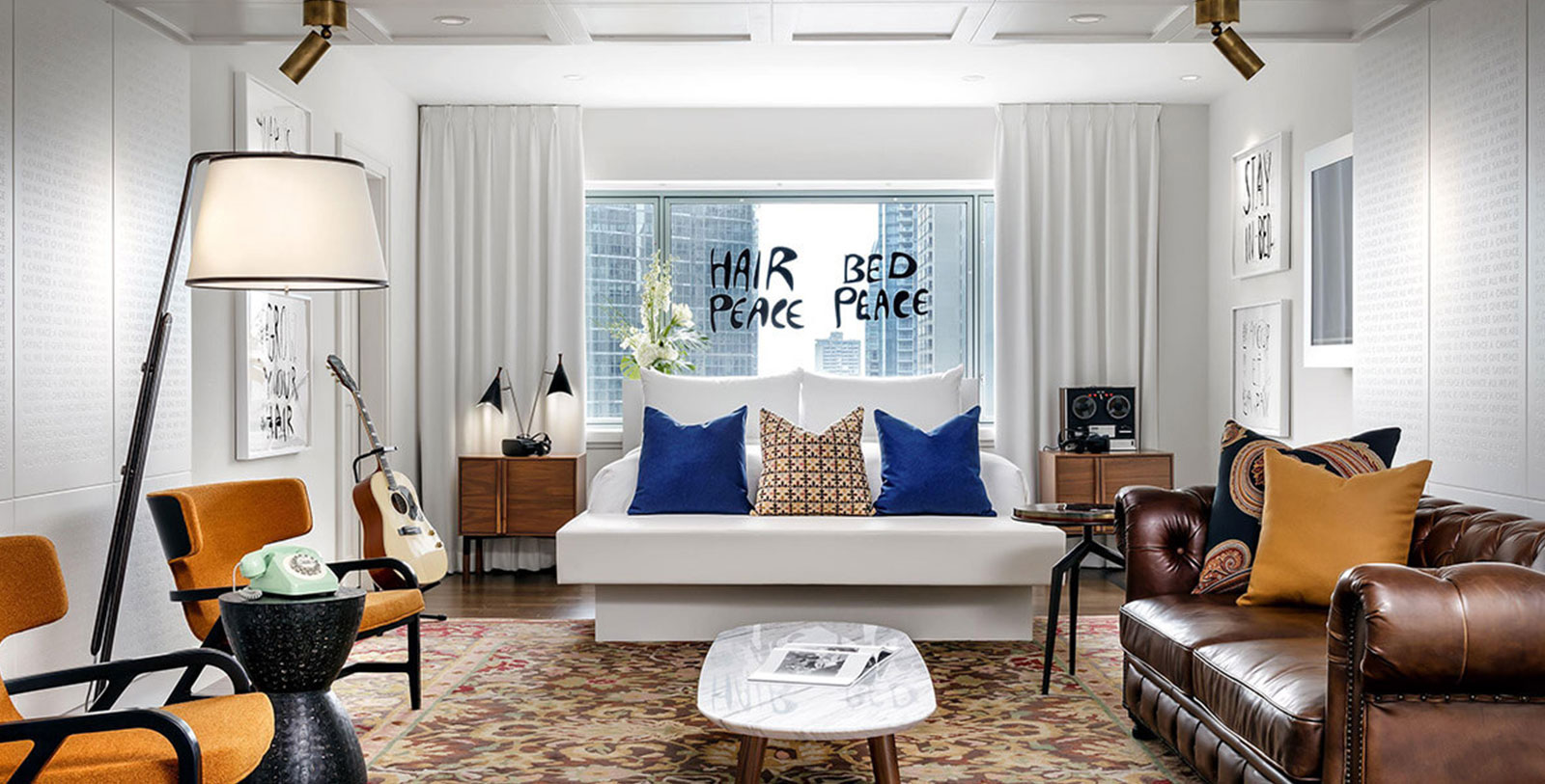 Image of John Lennon and Yoko Ono Room, Fairmont The Queen Elizabeth, 1958, Member of Historic Hotels Worldwide, in Montreal, Quebec, History