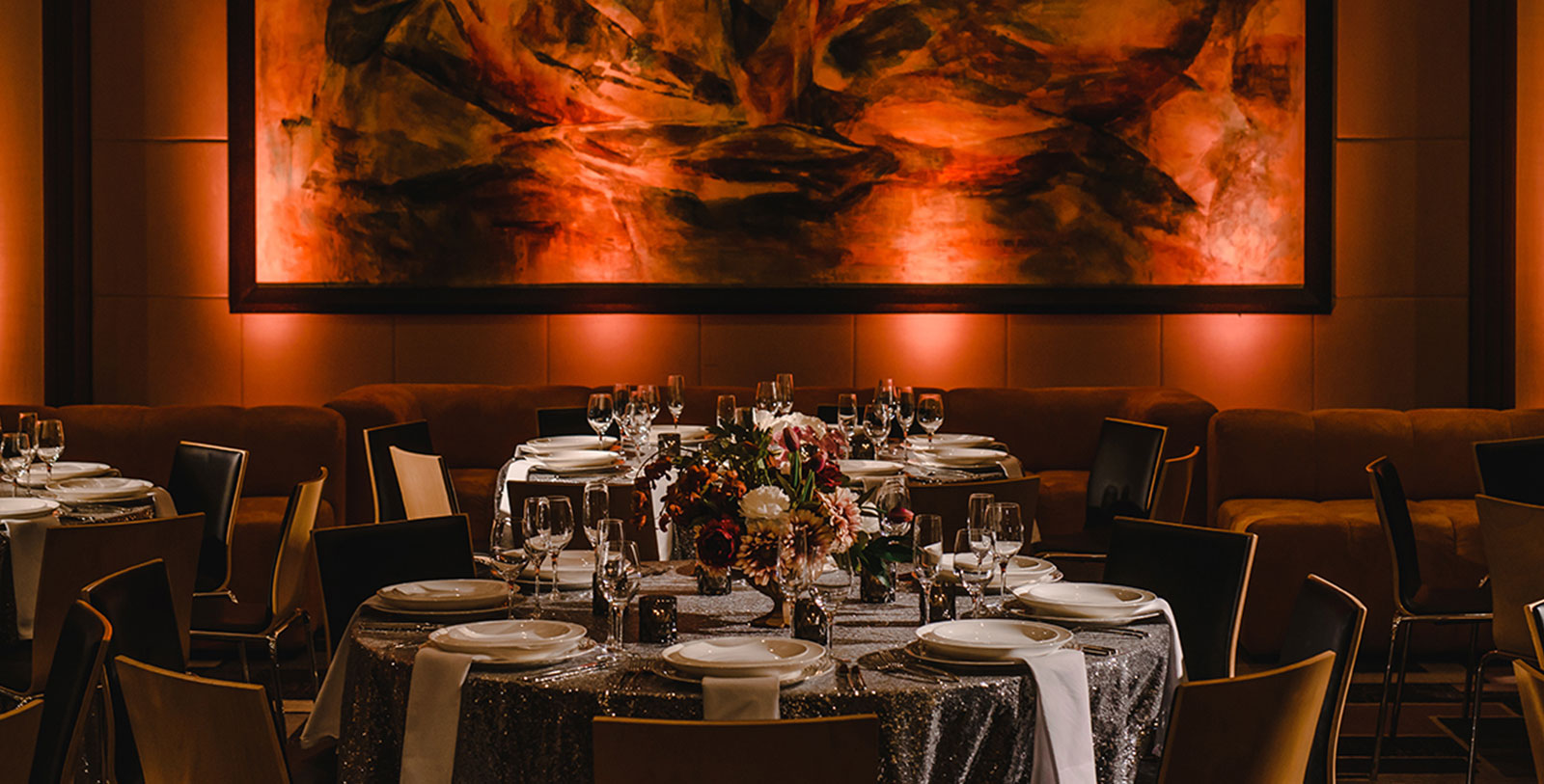 Image of Banquet setting, Fairmont The Queen Elizabeth, 1958, Member of Historic Hotels Worldwide, in Montreal, Quebec, Weddings