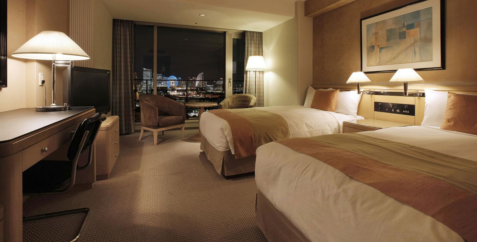 Image of Guestroom Interior, Hotel New Grand, Yokohama, Japan, 1927, Member of Historic Hotels Worldwide, Accommodations