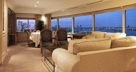 Meetings at      Hotel New Grand  in Yokohama