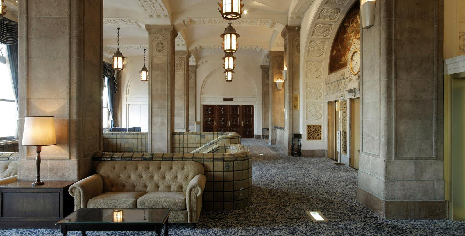 Image of Lobby Seating, Hotel New Grand, Yokohama, Japan, 1927, Member of Historic Hotels Worldwide, Discover