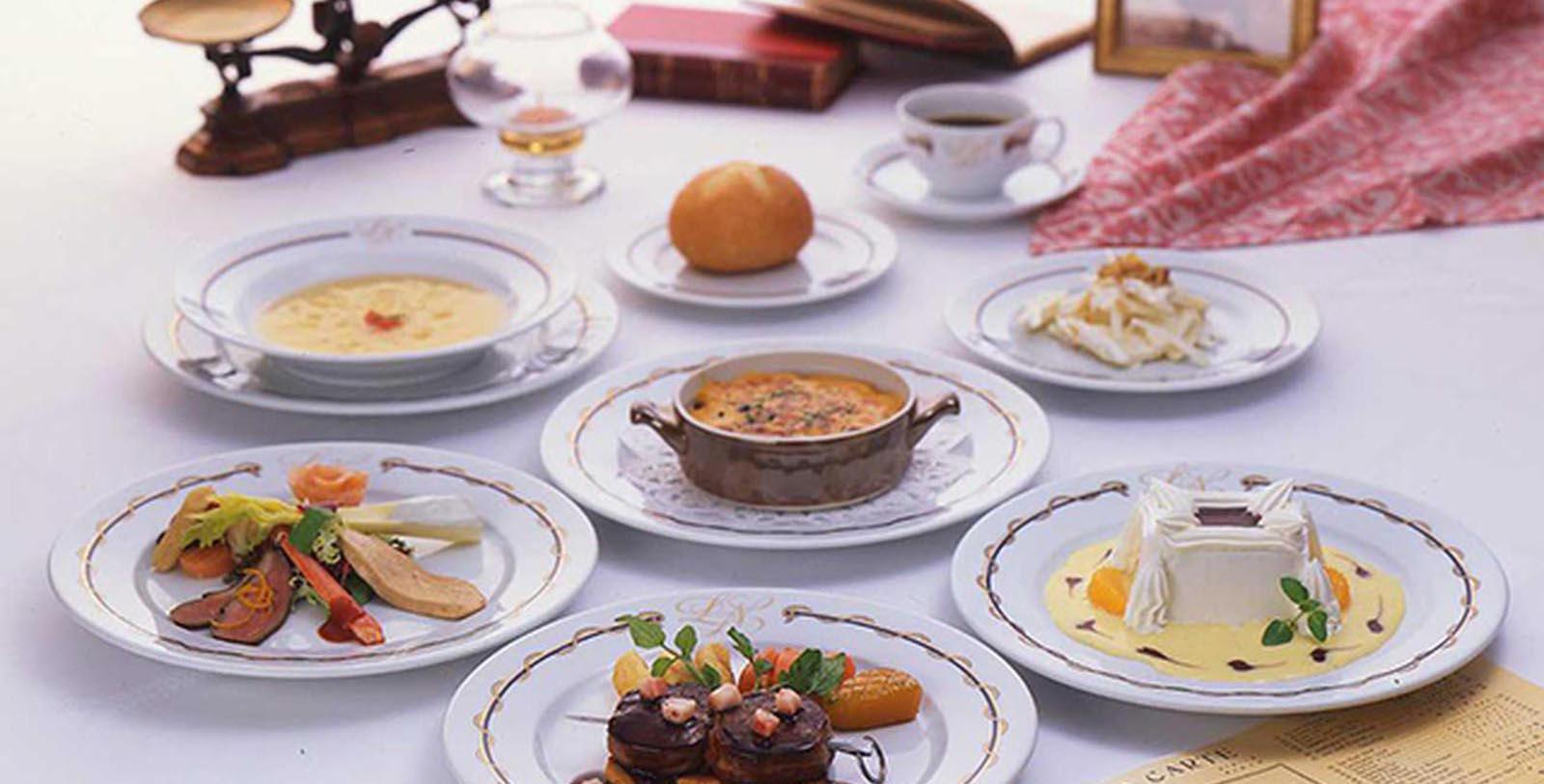 Image of Panoramic Restaurant Le Normandie, Hotel New Grand, Yokohama, Japan, 1927, Member of Historic Hotels Worldwide, Hot Deals