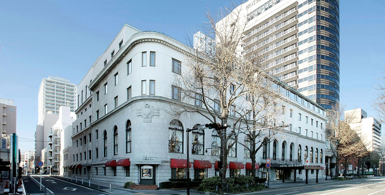 Image of Exterior, Hotel New Grand, Yokohama, Japan, 1927, Member of Historic Hotels Worldwide, Overview
