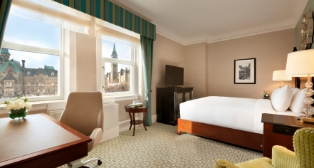 Accommodations:      Fairmont Château Laurier  in Ottawa