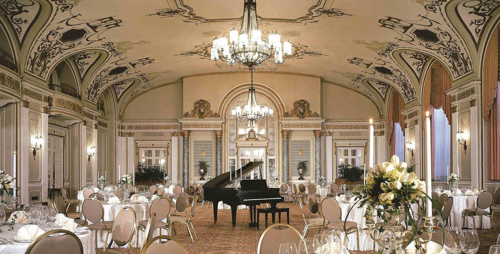 Image of ballroom set up for special event Fairmont Château Laurier, 1912, Member of Historic Hotels Worldwide, in Ottowa, Canada, Experience