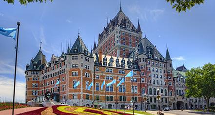 Fairmont Le Château Frontenac  in Québec City