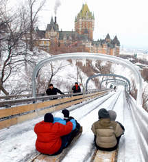 Activities:      Fairmont Le Château Frontenac  in Québec City