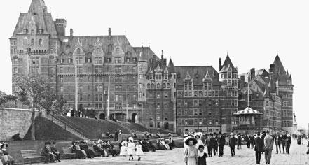 History:      Fairmont Le Château Frontenac  in Québec City
