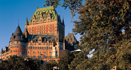 Fairmont Le Chateau Frontenac in Québec City