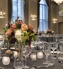 Weddings:      Fairmont Le Château Frontenac  in Québec City