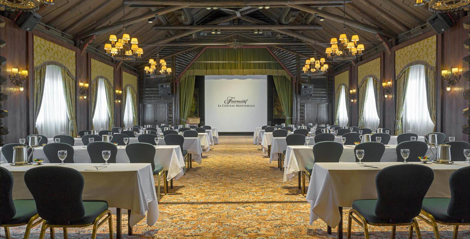 Image of Event Space Fairmont Le Château Montebello, 1930, Member of Historic Hotels Worldwide, in Montebello, Quebec, Experience
