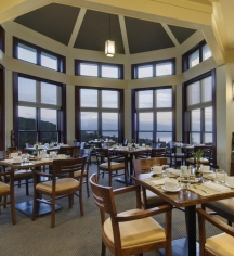 Dining at      Fairmont Le Manoir Richelieu  in Charlevoix