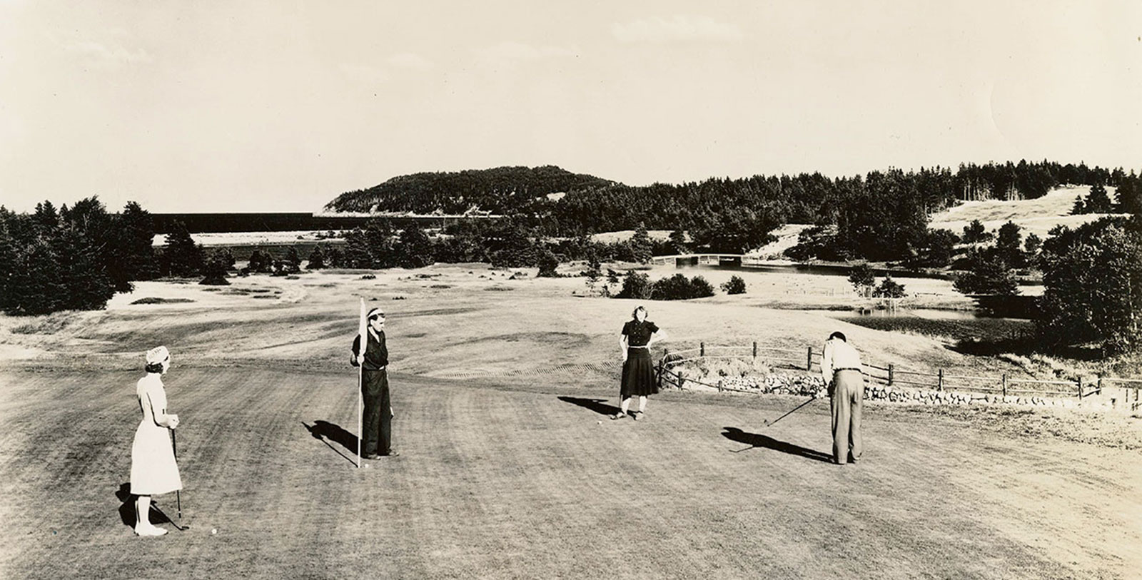 Image of Historic Golf Course, Keltic Lodge Resort and Spa, 1940, Member of Historic Hotels Worldwide, in Ingonish Beach, Nova Scotia, History