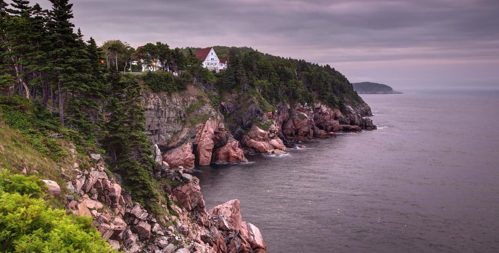 Image of Hotel Exterior Keltic Lodge Resort and Spa, 1940, Member of Historic Hotels Worldwide, in Ingonish Beach, Nova Scotia, Location