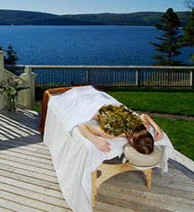 Spa:      Keltic Lodge Resort and Spa  in Ingonish Beach