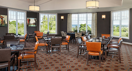 Dining at      The Algonquin Resort  in St. Andrews By-The Sea