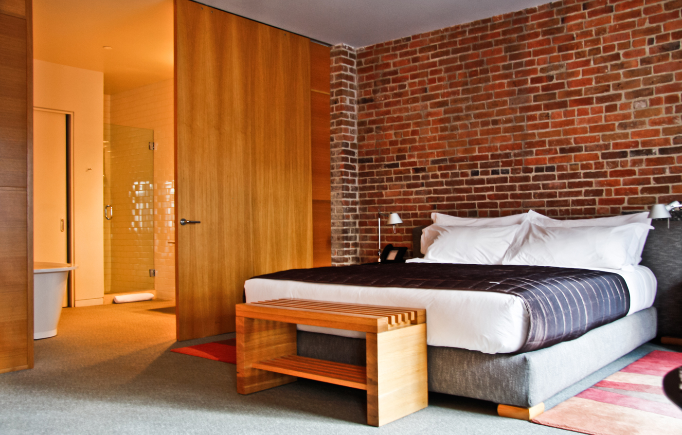 Accommodations:      Hotel Gault  in Montreal