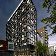 Book a stay with Hotel Monville - OPENING LATE SUMMER 2017 in Montreal