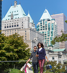 Activities:      Fairmont Hotel Vancouver  in Vancouver