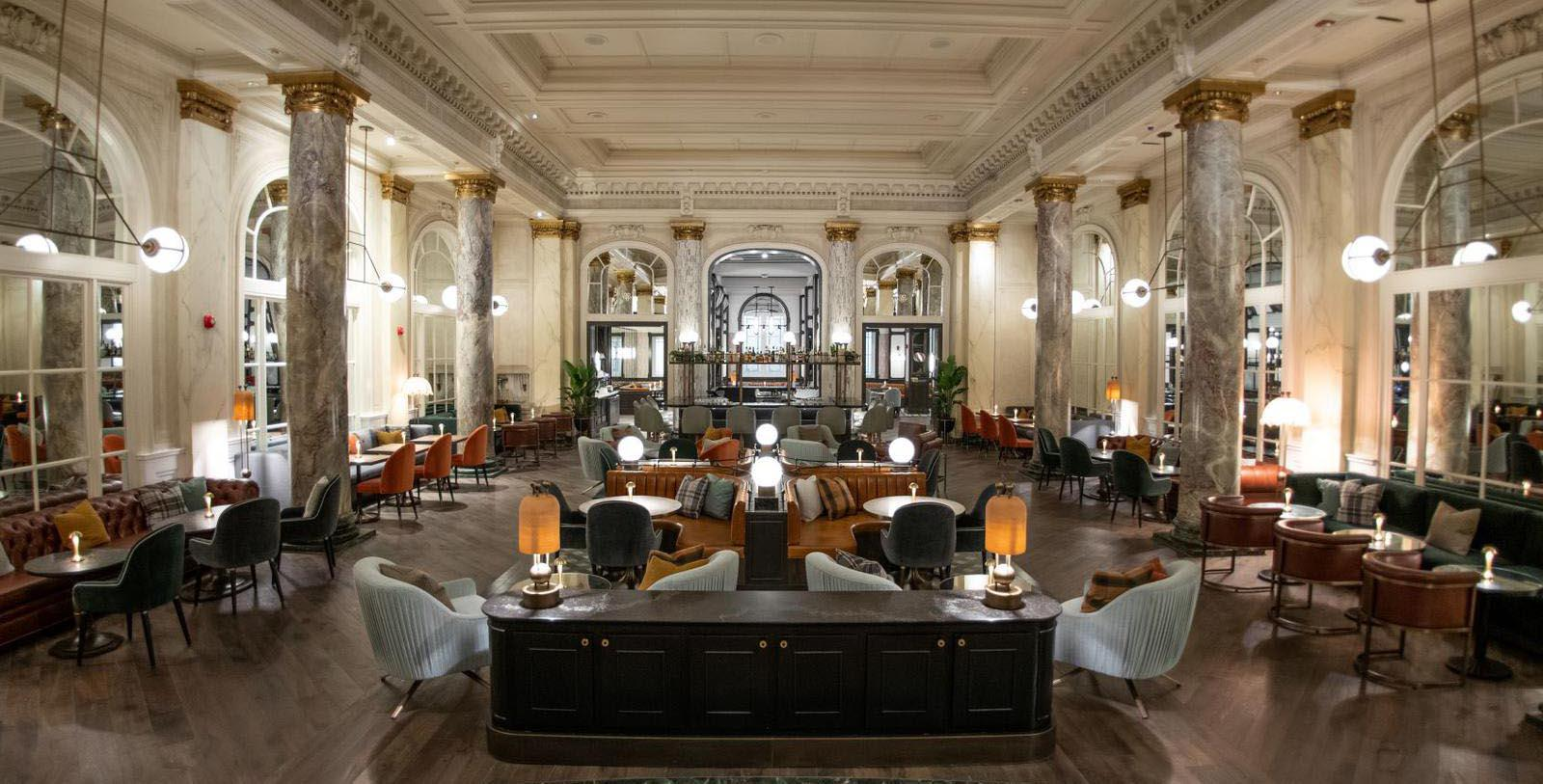 Image of Bar and Lounge Area, Fairmont Palliser, 1914, Member of Historic Hotels Worldwide, in Calgary, Alberta, Taste