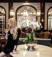Dining at      Fairmont Palliser  in Calgary
