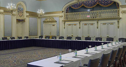 Meetings at      Fairmont Palliser  in Calgary