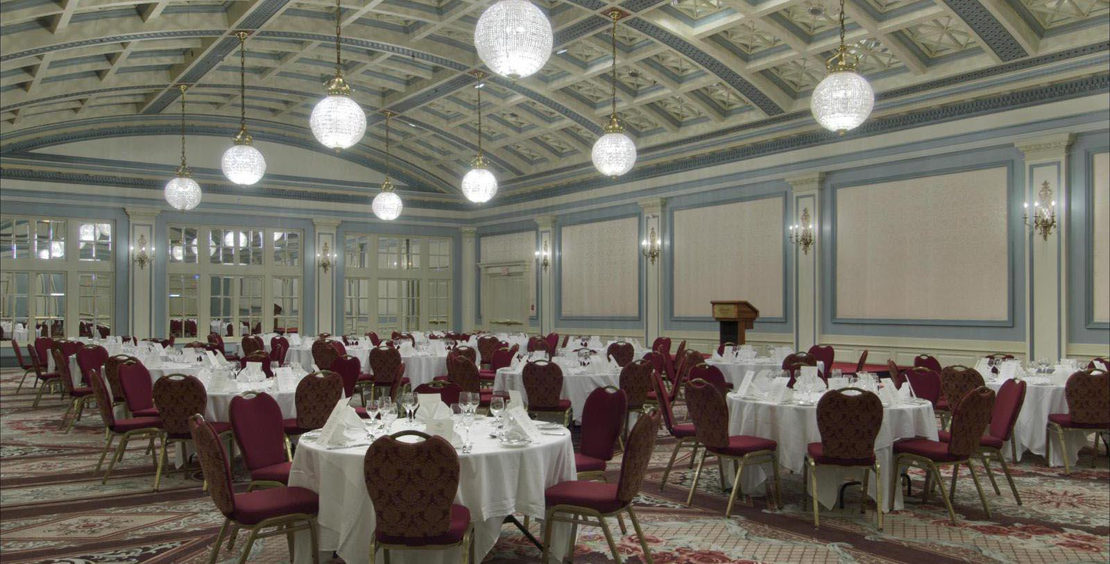 Image of ballroom set up for conference Fairmont Empress, 1908, Member of Historic Hotels Worldwide, in Victoria, British Columbia, Canada, Experience