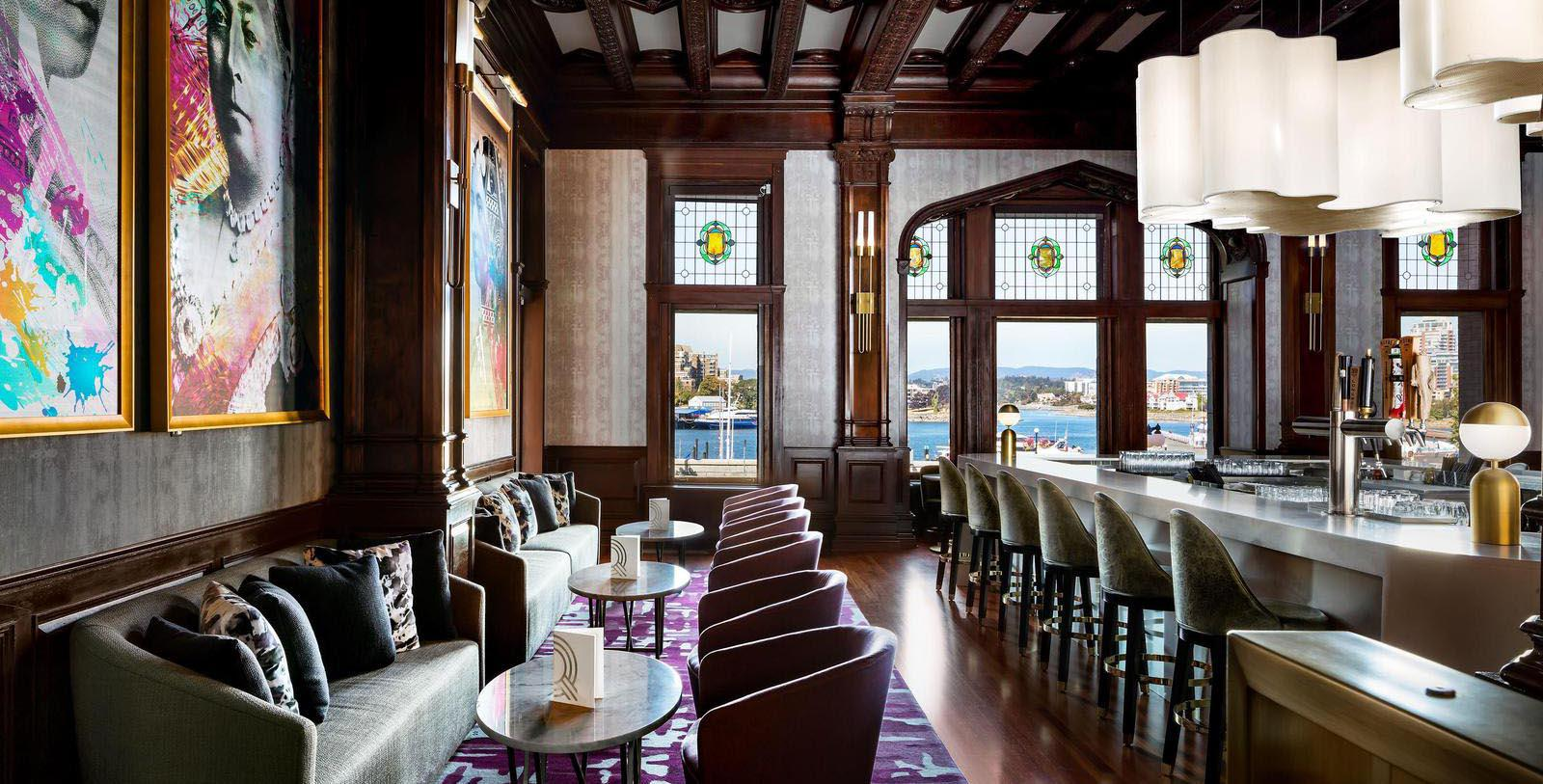 Image of Q bar Fairmont Empress, 1908, Member of Historic Hotels Worldwide, in Victoria, British Columbia, Canada, Explore