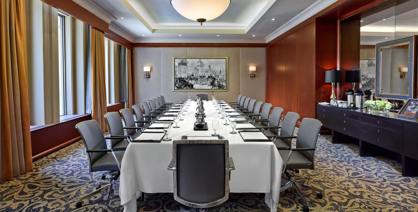 Image of Boardroom at The Omni King Edward Hotel, 1903, Member of Historic Hotels Worldwide, in Toronto, Ontario, Canada, Experience