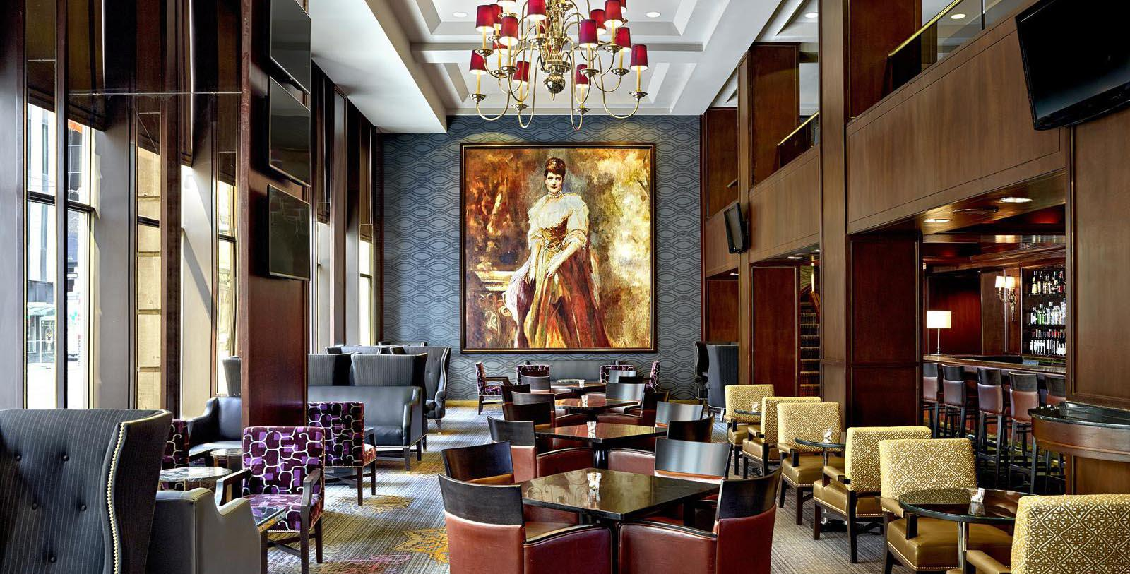 Image of the Consort Bar at The Omni King Edward Hotel, 1903, Member of Historic Hotels Worldwide, in Toronto, Ontario, Canada, Discover