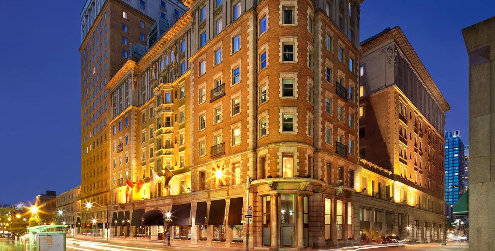Image of Hotel Exterior The Omni King Edward Hotel, 1903, Member of Historic Hotels Worldwide, in Toronto, Ontario, Canada, Special Offers, Discounted Rates, Families, Romantic Escape, Honeymoons, Anniversaries, Reunions
