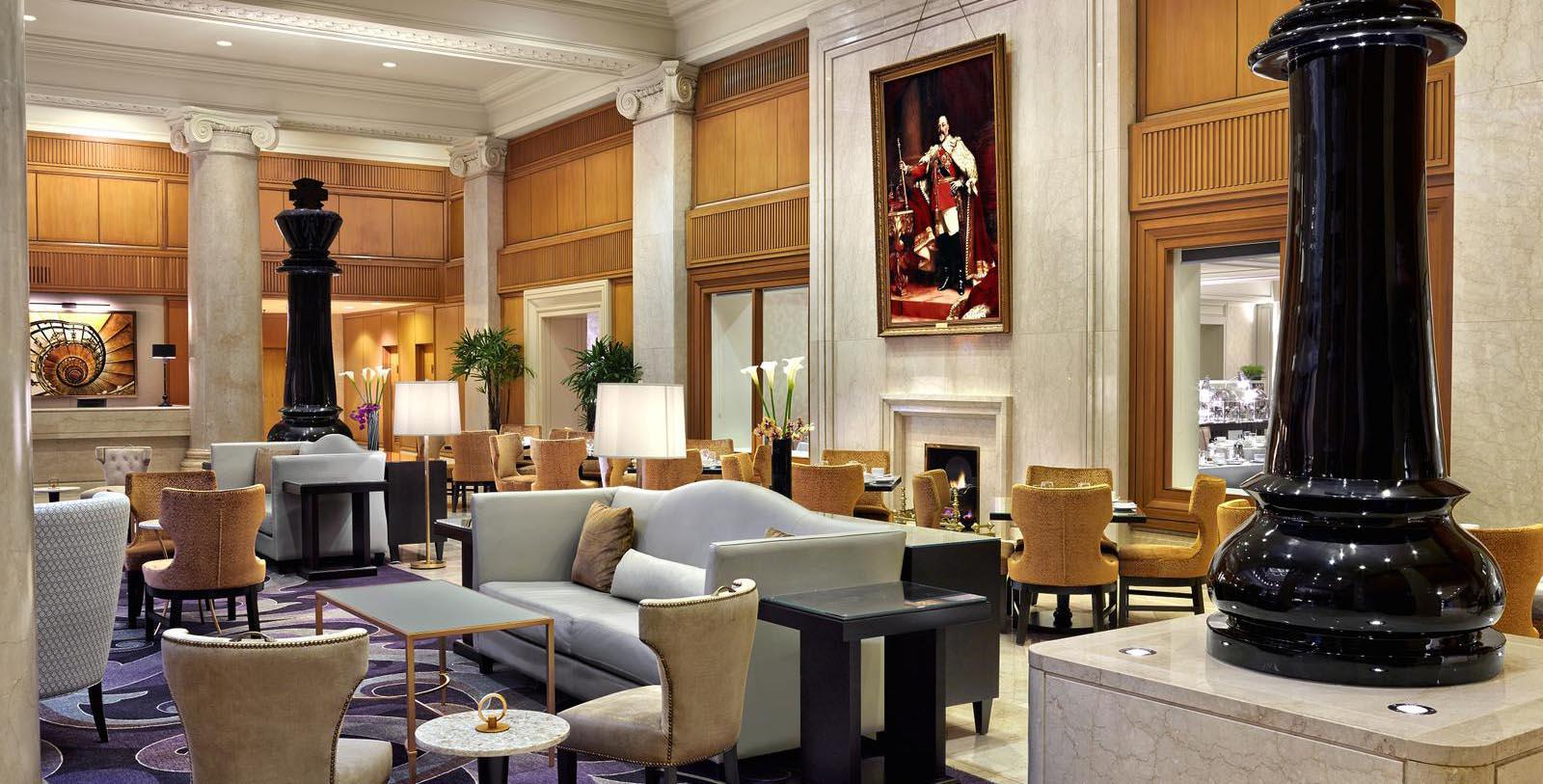 Image of Hotel Lobby at The Omni King Edward Hotel, 1903, Member of Historic Hotels Worldwide, in Toronto, Ontario, Canada, Explore