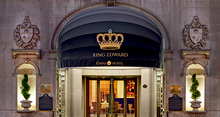 The Omni King Edward Hotel  in Toronto