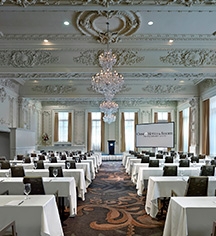 Meetings at      The Omni King Edward Hotel  in Toronto