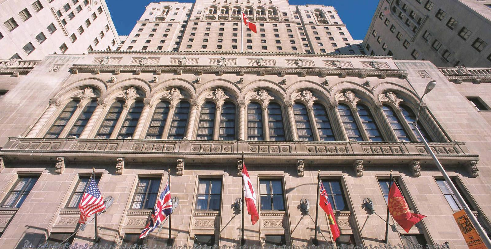 Image of Hotel Exterior Fairmont Royal York, 1929, Member of Historic Hotels Worldwide in Toronto, Canada, Special Offers, Discounted Rates, Families, Romantic Escape, Honeymoons, Anniversaries, Reunions