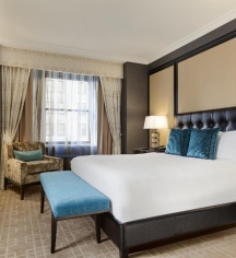 Accommodations:      Fairmont Royal York  in Toronto